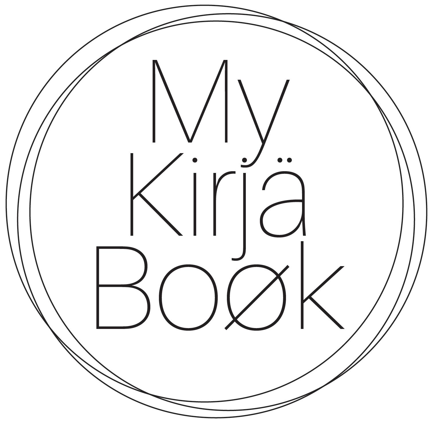 My Kirjä Book Agendas sur-mesure